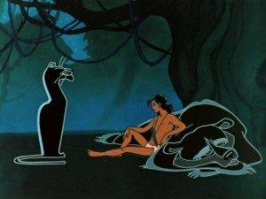 LE LIVRE DE LA JUNGLE : AU SECOURS DE MOWGLI. dans Le Livre de la Jungle. mowglie_resting-300x225